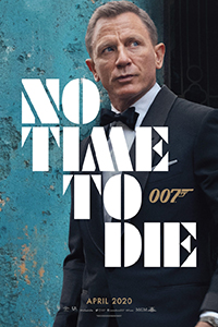 James Bond<br>No Time to Die<br>